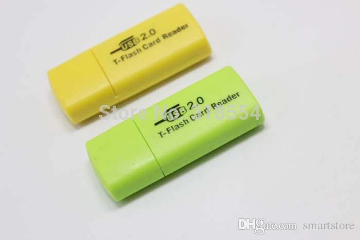 / Mini lettore di schede USB 2.0 Professional Micro TF T-Flash Card Reader Writer Spedizione gratuita