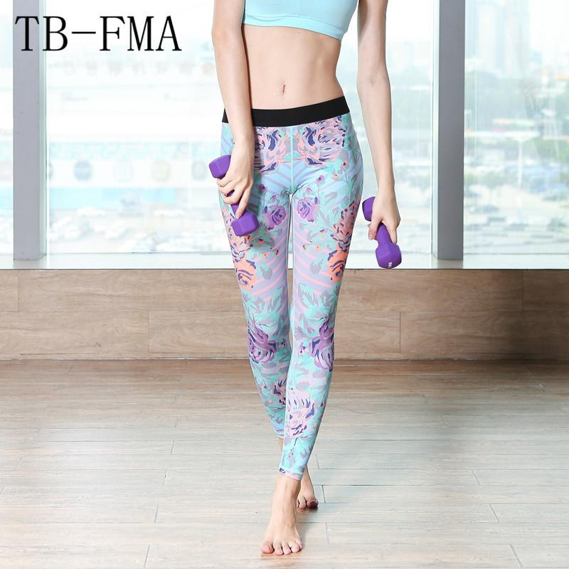 Sport Fitness Women yoga pants Yoga Leggings Gym Stretch Sports Pants Yoga Pants Sport Tights Running Female Sportswear Spandex