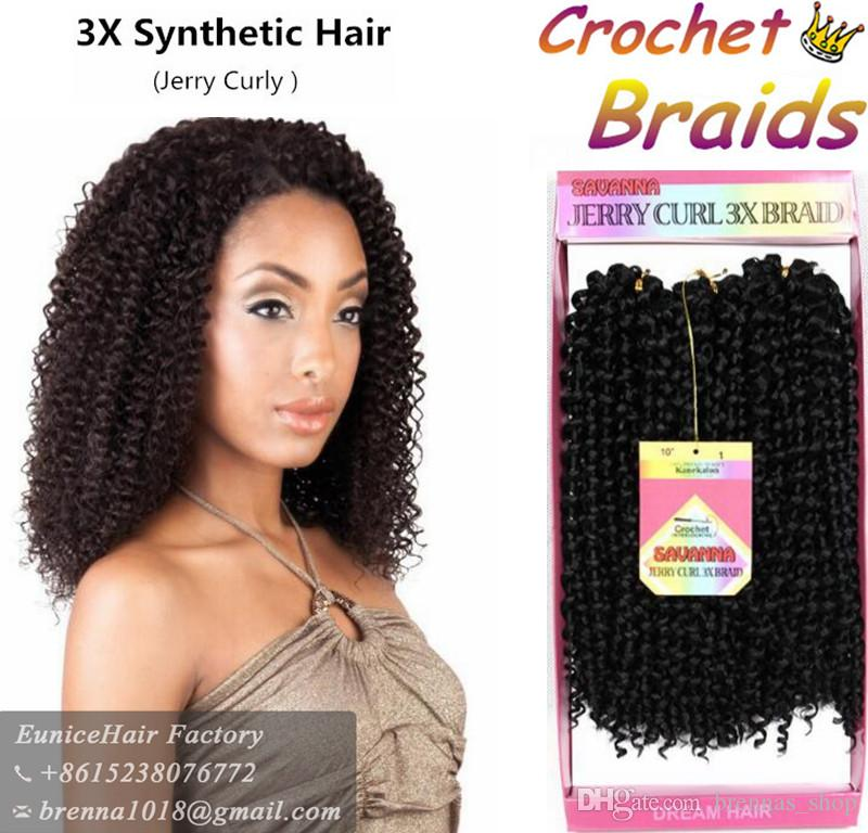 ombre braid 10inch marley crochet braids hair curly synthetic