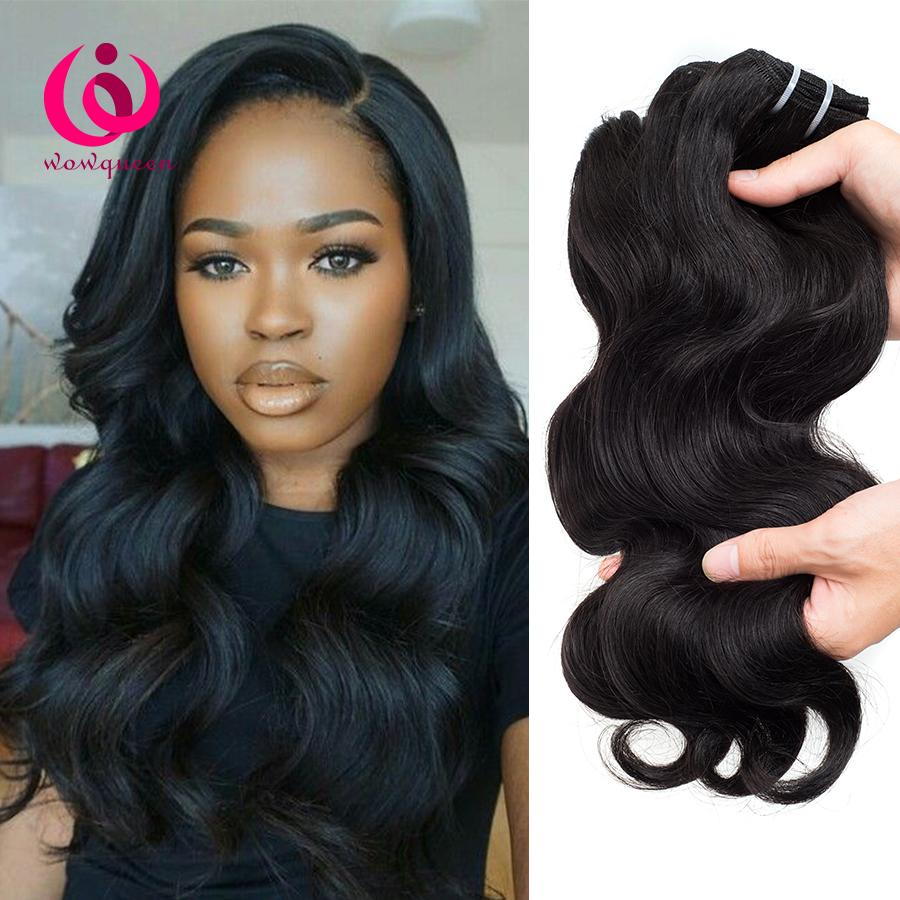 Peruvian Human Weave Hair Body Wave 8 26inch Wow Queen Product Good