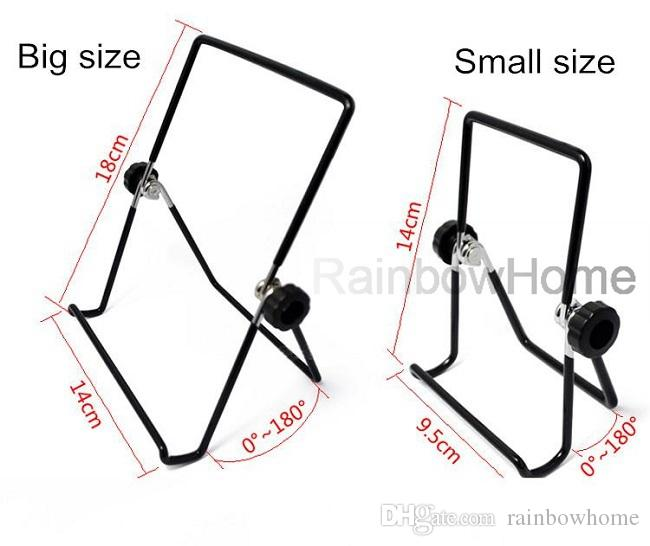 Universal Portable Mini Metal Steel Wire Stativhållare Justerbar för iPhone iPad Mini Galaxy Tab 7 10 tum Tablet PC Smart Phone