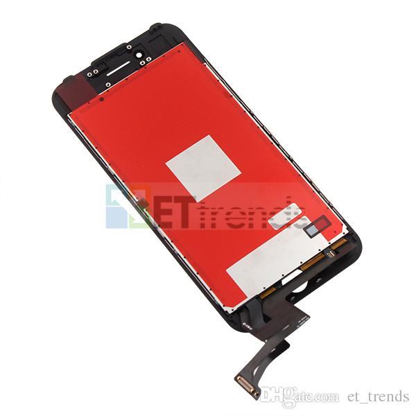 Pantalla de alta calidad para iPhone 7 Lcd Asamblea de pantalla Fábrica Suministro Directamente Marco de Prensa en Frío Sin Píxeles Muertos DHL Rápido