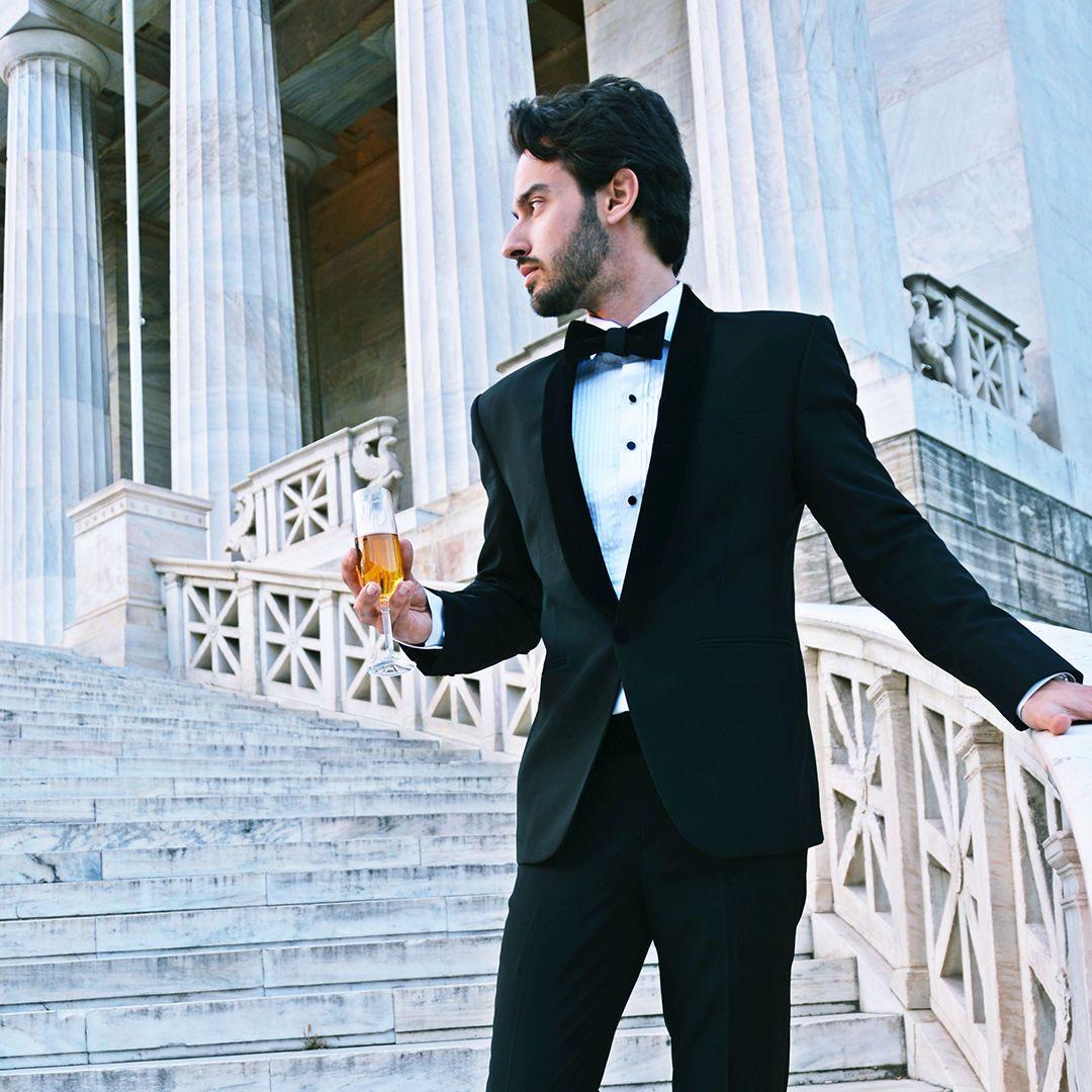 2018 Custom Made Navy Mens Groom Tuxedo Wedding Suits Slim Fit Groomsman Formal From Fengyun185 8945