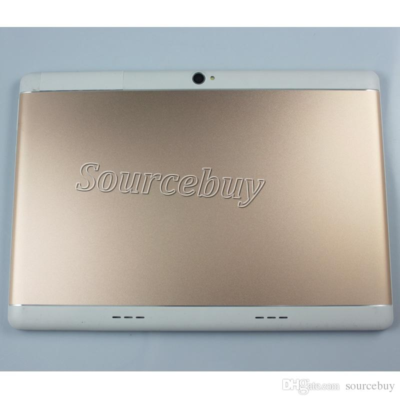 Phone Call 10 Inch Tablet PC 3G Android Quad Core 1GB RAM 16GB ROM WiFi Bluetooth FM IPS LCD Fake Show 2G+32G Phablet