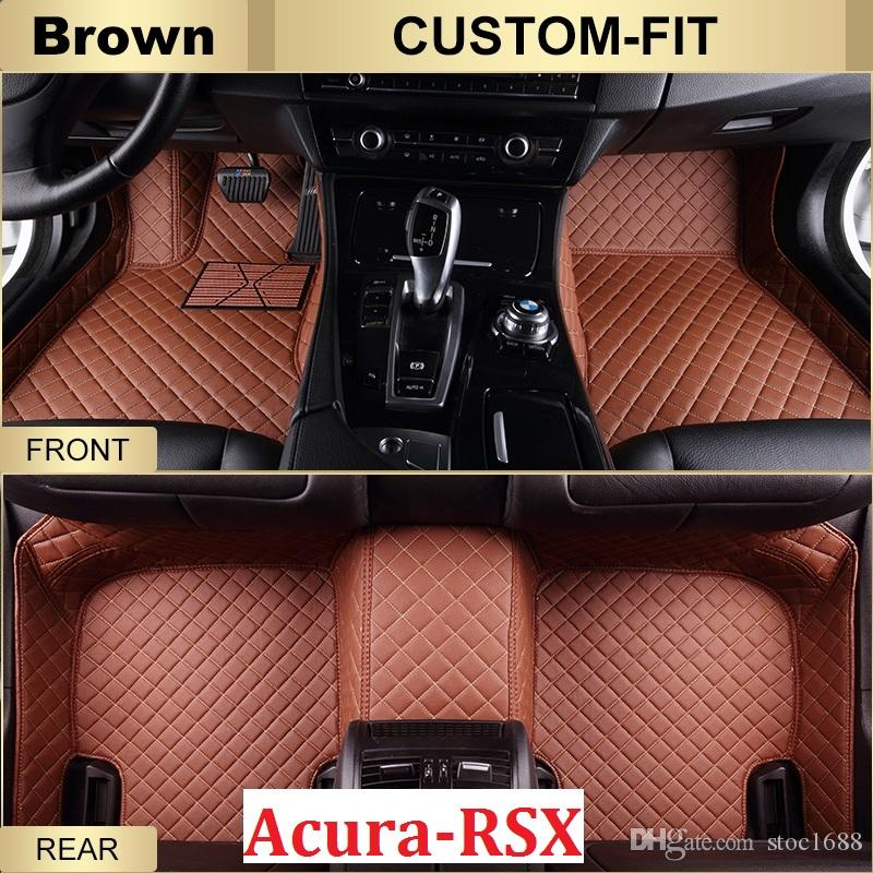 Scot Custom Fit Leather Car Floor Mats For Acura Rsx All - Acura rsx floor mats