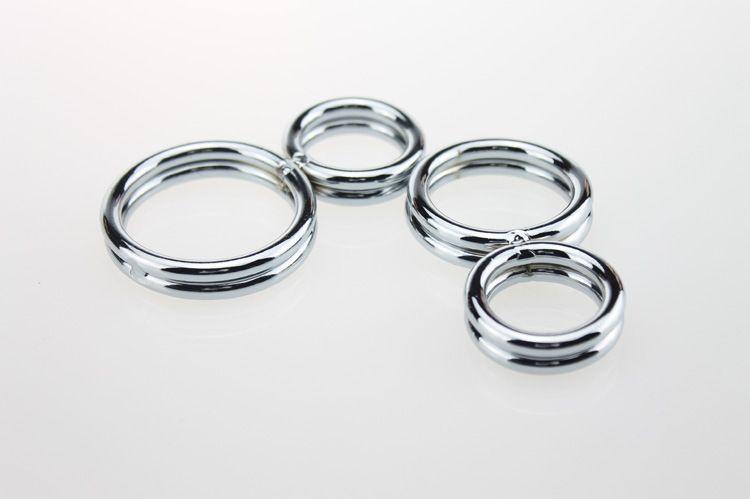 Extrêmement sensuel en acier inoxydable 8 design de forme Cock Cage Pénis Cock Rings pour Hommes Adulte Erotique Sex Toys Produits de Sexe