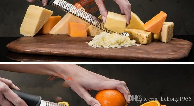 Senior Cheese Grater Planing Zester Chocolate Plane Graters Lemon Wire Cleaner Fruits Chip Scraper Planer 9 5gf R