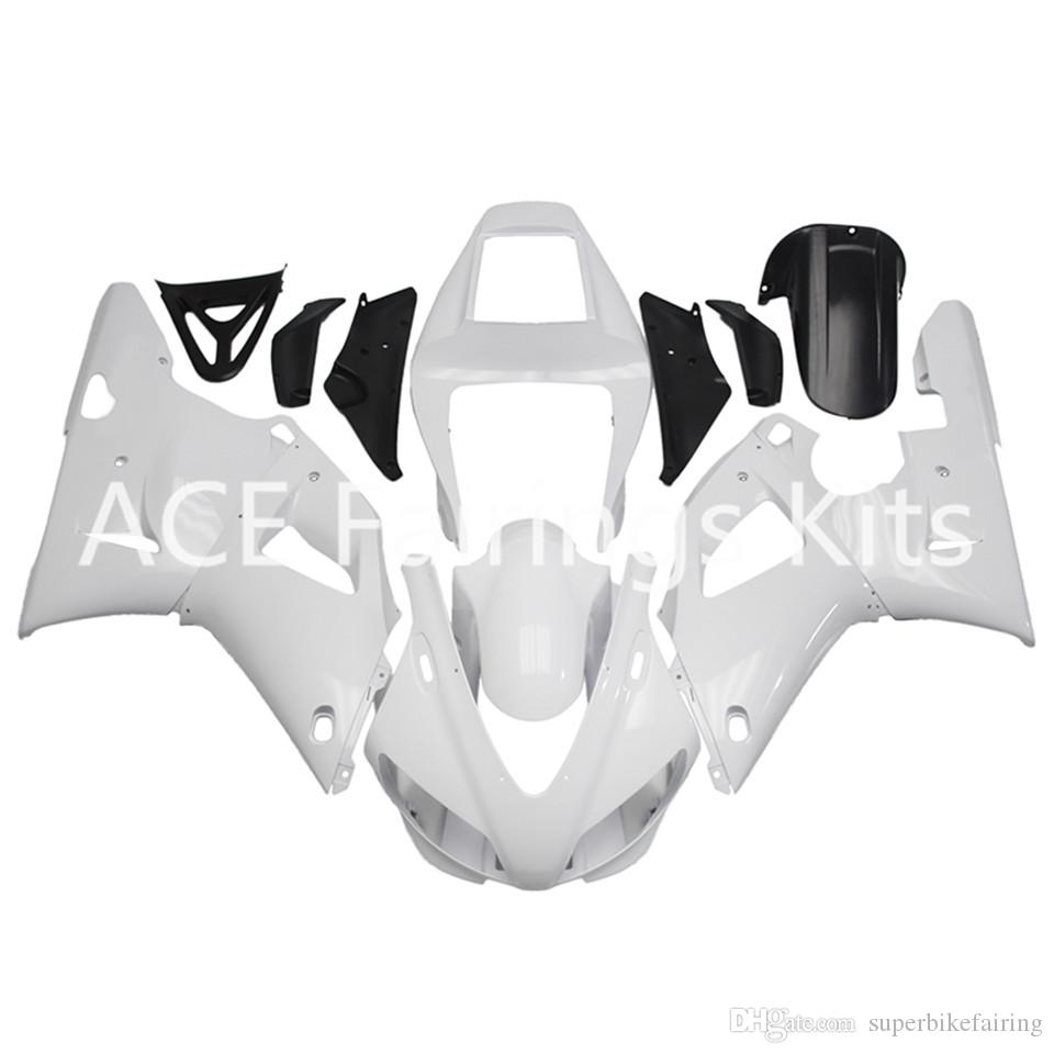 3 free gifts Complete Fairings For Yamaha YZF 1000-YZF-R1-98-99 YZF-R1-1998-1999 Motorcycle Full Fairing Kit White Black style v29