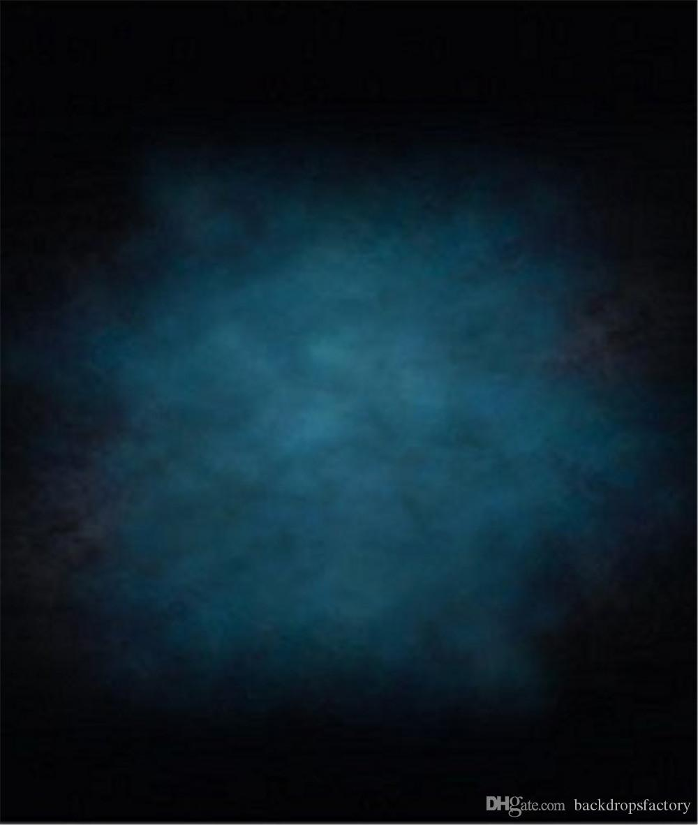Compre Sólido Color Azul Oscuro Boda Fotografía Telones