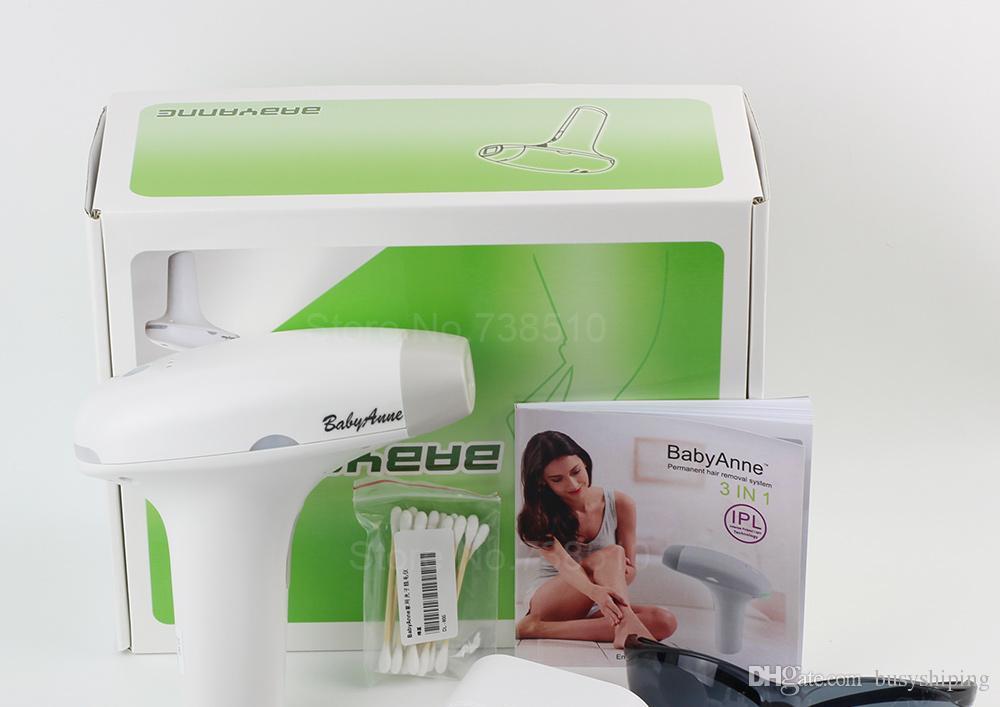 3 en1 Bikini de cuerpo entero Sistema de depilación láser permanente IPLer Depilación Eliminación de depilación Acne Fotorejuvenecimiento Destellos DHL UPS nave