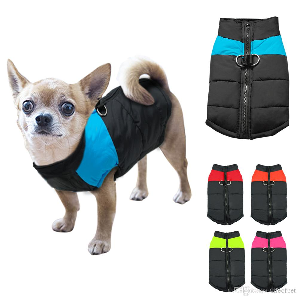 Wholesale Dog Clothes For Small Dogs Winter Puppy Chihuahua Pet Dog Clothes Waterproof Small Medium Dog Coat Jacket Ropa Para Perros Xs Xl From