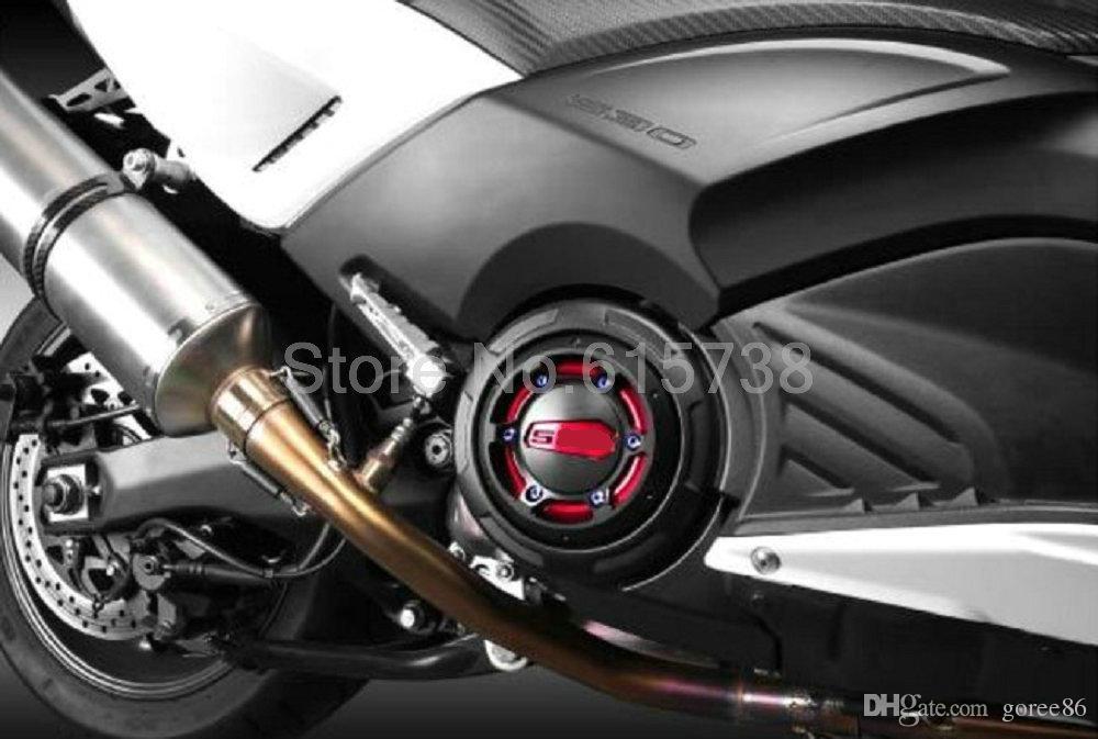 Protezione protettiva della copertura protettiva del motore della copertura dello statore del motore CNC del motociclo di i Yamaha TMAX 500 2008-2011