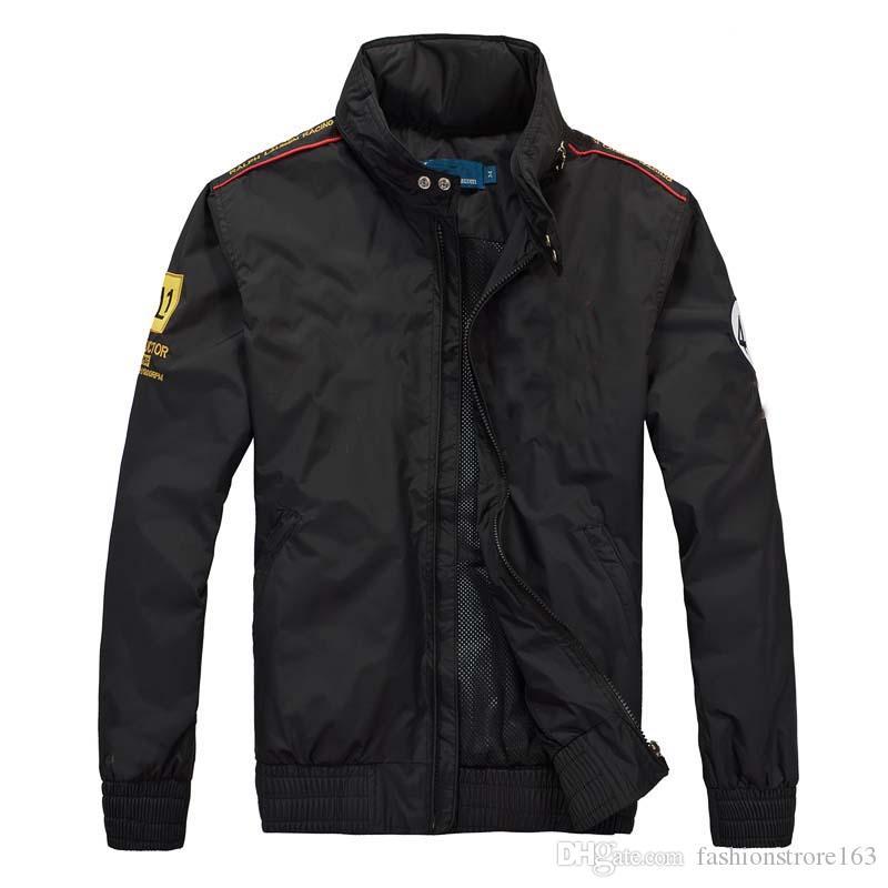 dünne Oberbekleidung Herbst und Winter kommerziellen Stehkragen Kapuzenjacke