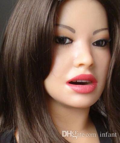 Giocattoli del sesso della bambola del sesso orale gli uomini giocattoli gli uomini adulti Una piccola quantità di giocattoli del sesso dei capelli vaginali amano le bambole di amore della gomma di silicone, vagina