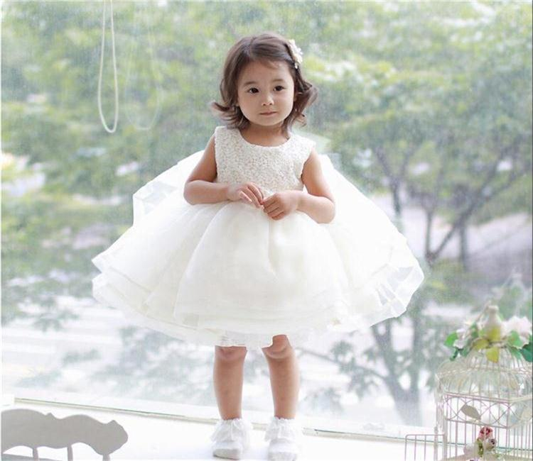 2018 Wholesale Vintage Baby Girl Dress Toddler Girls 2017 Ceremonies ...