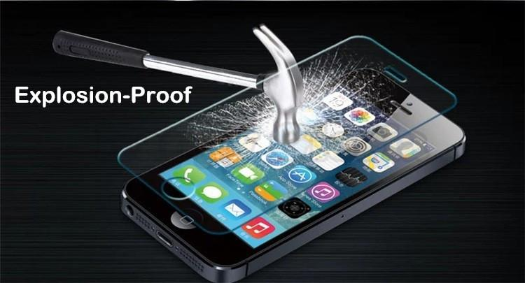 front+back Tempered Glass For iPhone 5 5S 6 6s 7 plus 4 4S Screen Protector Film Full Body Glass