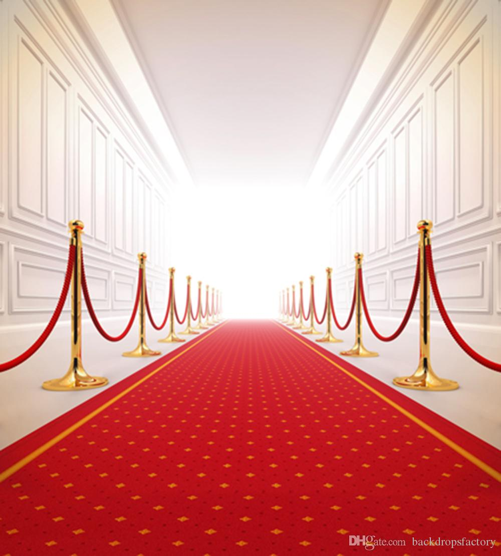 Red carpet wedding backdrop photography bright front door indoor photographic background picture - Red carpet photographers ...