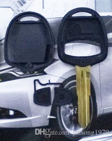 KL2-1 Mitsubishi 2 BOUTONS REMOTE KEY SHELL Remplacement Pour Mitsubishi Triton Lancer Evo avec MIT8 façon clé