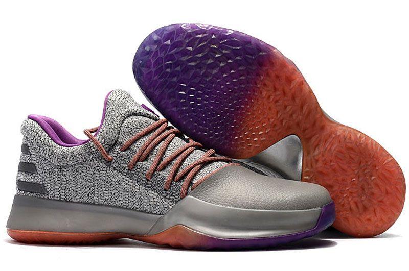 James Harden Vol.1 Black History Month Blanc Orange Or Chaussures de basket-ball pour hommes Harden Vol.1 Low BHM Garçons Sneakers