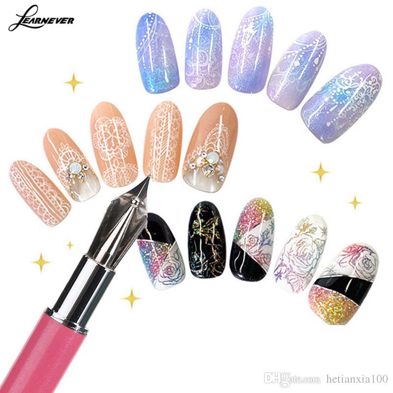Gel Pen Nail Art Brush Set For Salon Manicure Nails Tool Diy Tools
