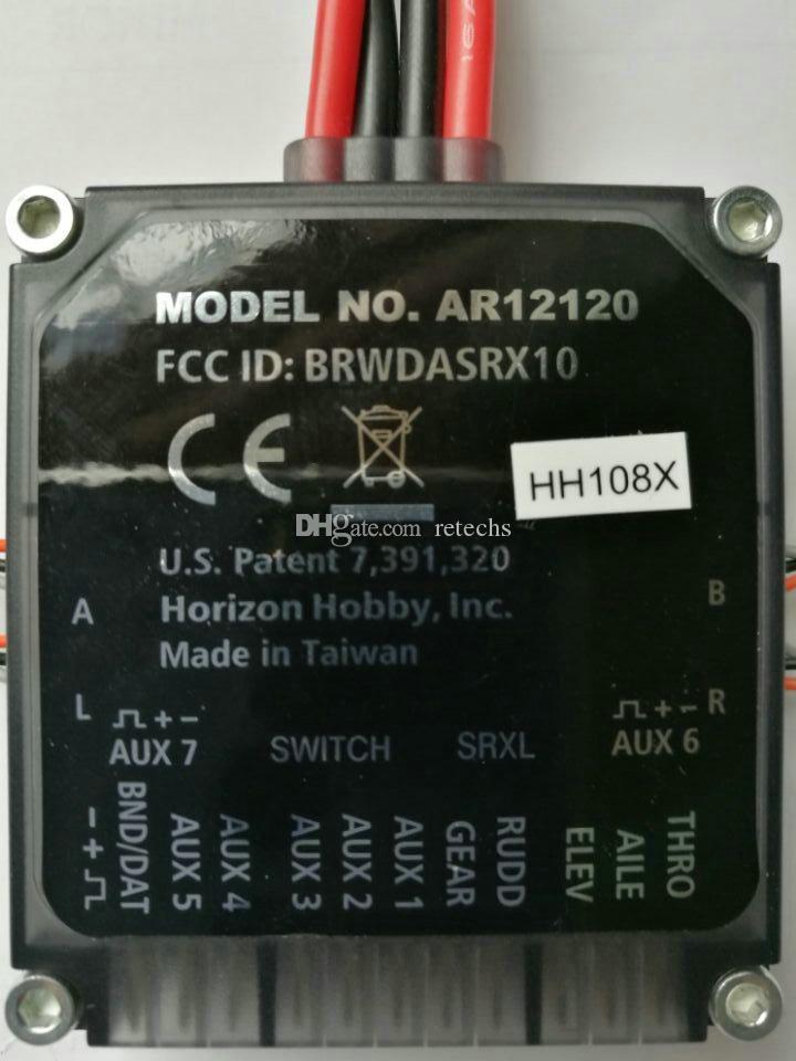 Venta de receptor de radio AR12120 DSMX / XPlus spektrum Receptor PowerSafe de 12 canales DSM2 y DSMX Envío gratuito