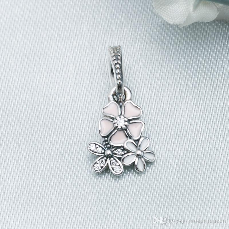 Blooms Poetic Blooms Ciondolo Fascino Fiore Perline S925 Sterling Silver adatti braccialetti originali di buona qualità 791824enmx Aleh9