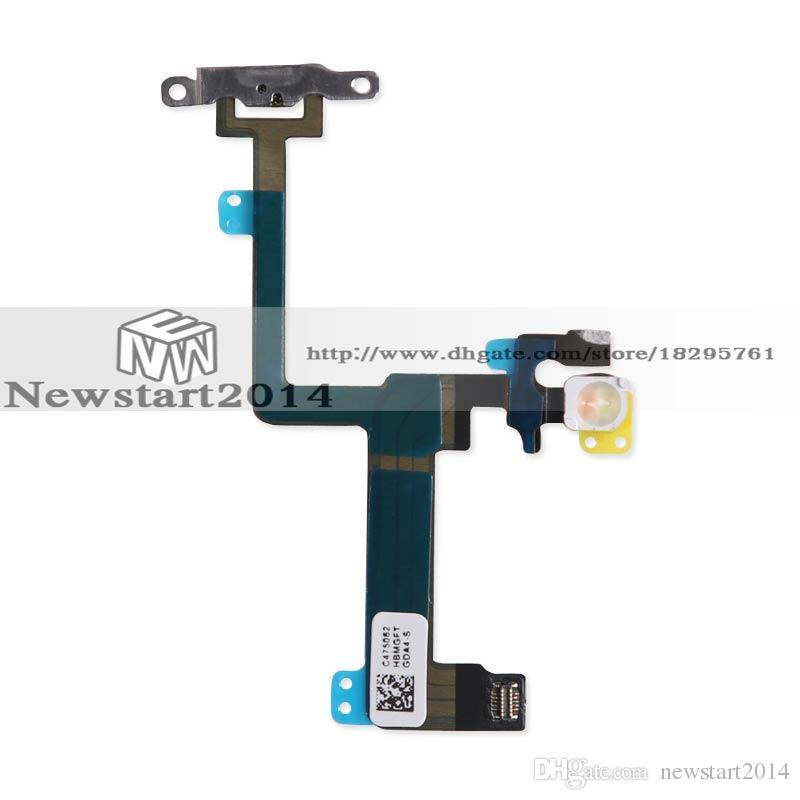 High Quality For iPhone 6 Plus 5.5 Power Switch On Off Button Key Flex Cable Flex Cable Replacement Part