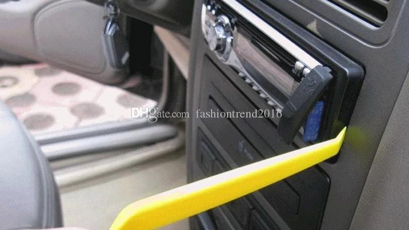 4 قطعة / المجموعة السيارات راديو السيارة لوحة الباب كليب لوحة تريم داش إزالة الصوت المثبت حدق أداة إصلاح