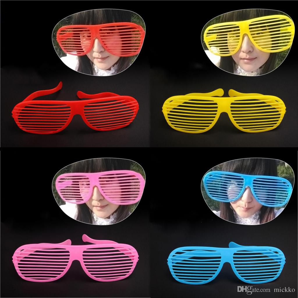 Fashion Soccer Fans Shutters Big Glasses April Fools' Day Party Celebration Funny Glasses Masquerade Supplies 7 Colors Choose