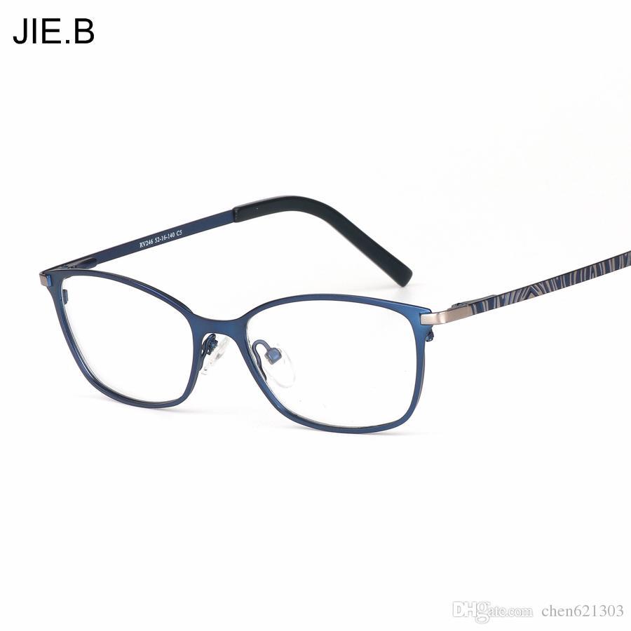 2017 Fashion Brand Designer Business Men Frame Full Rim Eyeglasses ...