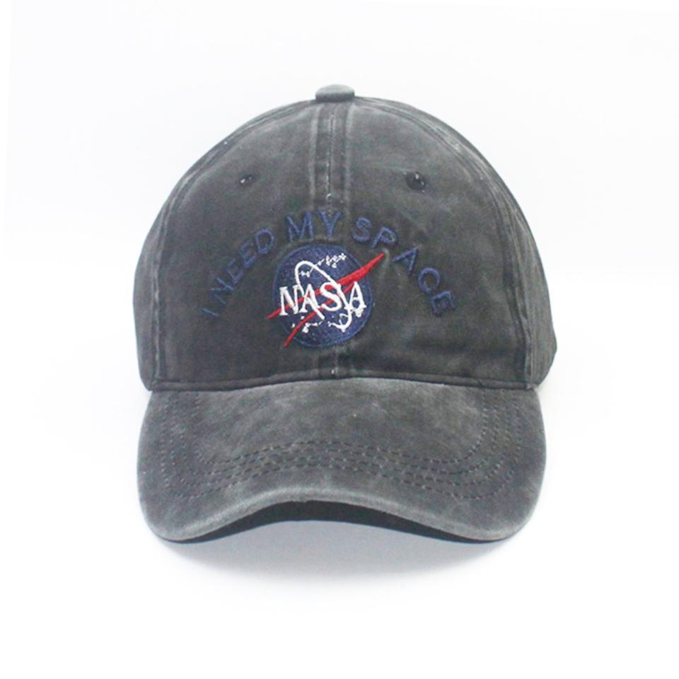 fbc0ebf2cb9 Fashion Heren Baseball Cap Merk NASA I Need My Space Snapback Skateboard  Women Dad Hat Men Gorro Hip Hop Planas Chapeaux Cap Hat Flat Caps For Men  From ...