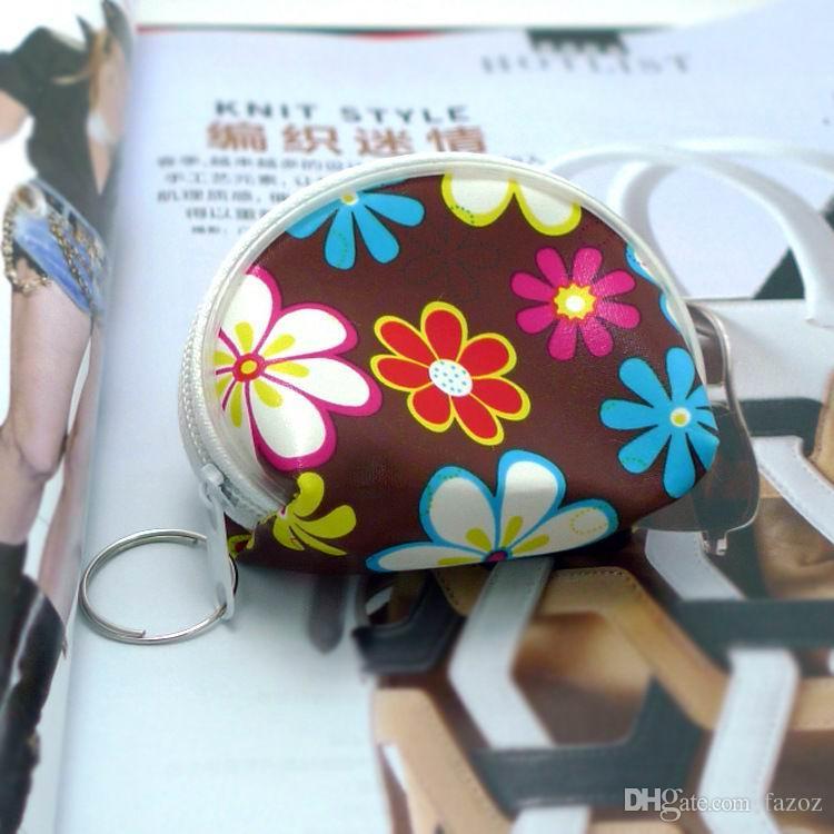 Mignon Floral Coeurs Zipper Mini Porte-Monnaie Pochette Petit Portefeuille Change Petits Cadeaux Promotionnels Enfants Enfants Filles Jouet Bourse
