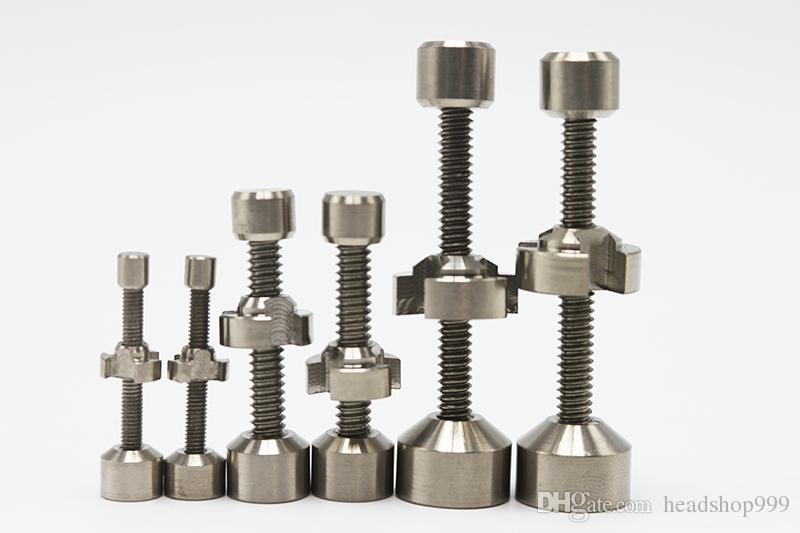 2016 Nuovi chiodi in titanio regolabili a doppio snodo 10mm / 14mm / 18mm Ti chiodo normale versione aggiornata Utensili chiodi senza tetto universali GR2