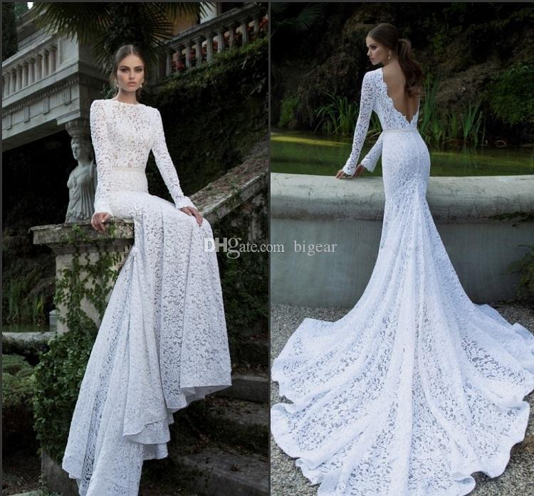 Fitted Long Sleeve Wedding Dresses Fashion Dresses