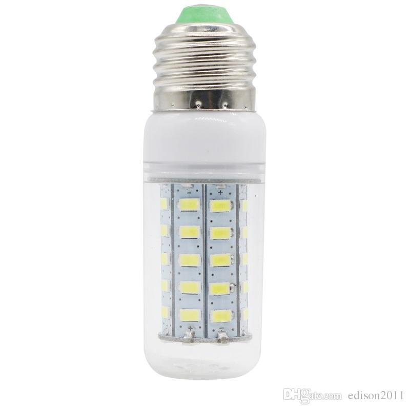 Edison2011 Ultra Bright 5730 SMD 48 LED Graan Gloeilamp E27 E14 GU10 G9 Base 110 V 220 V Warme Pure Witte LED-verlichting