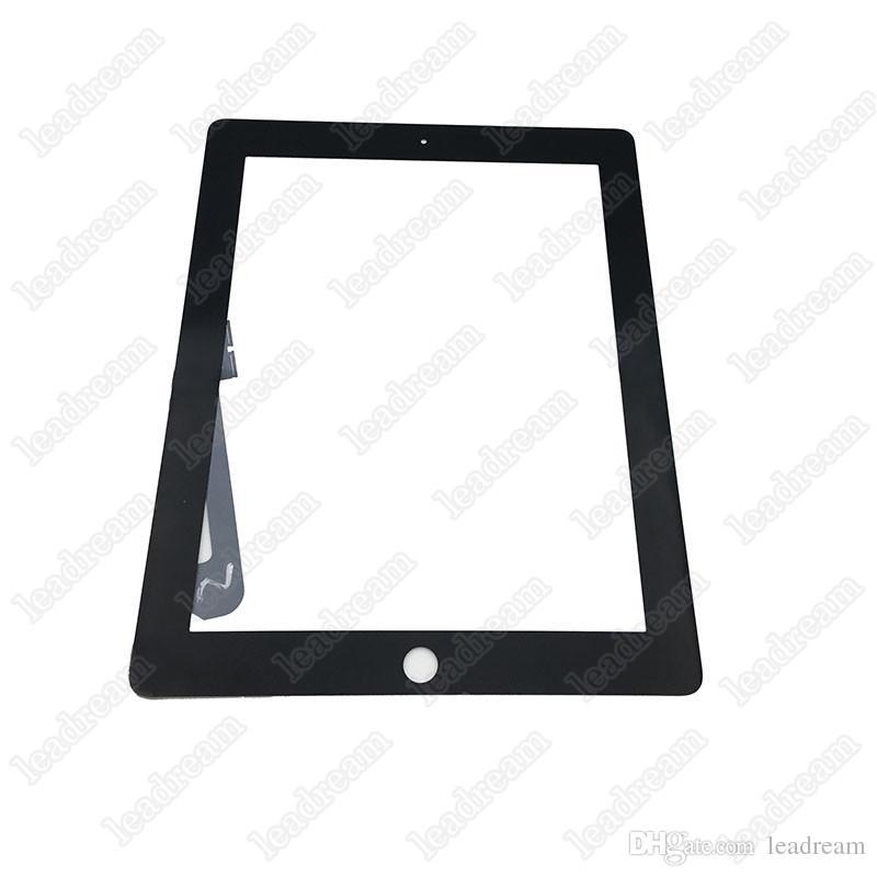 Сенсорный экран стеклянная панель дигитайзер для iPad 3 передняя стеклянная панель черный и белый с инструментами Бесплатная доставка