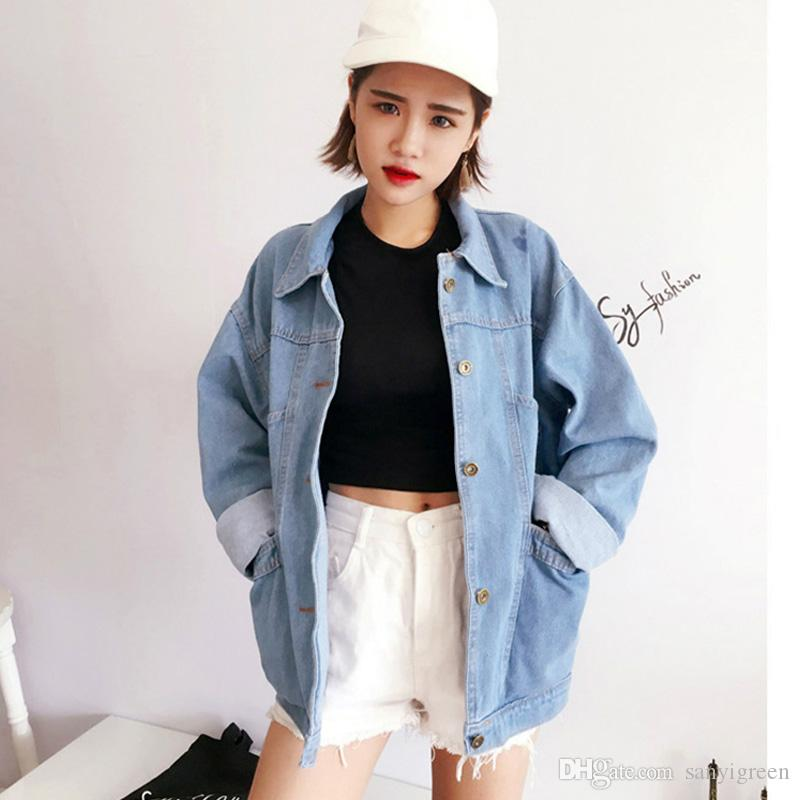 Jaket Jeans Oversize Wanita Lily Oversize Jaket