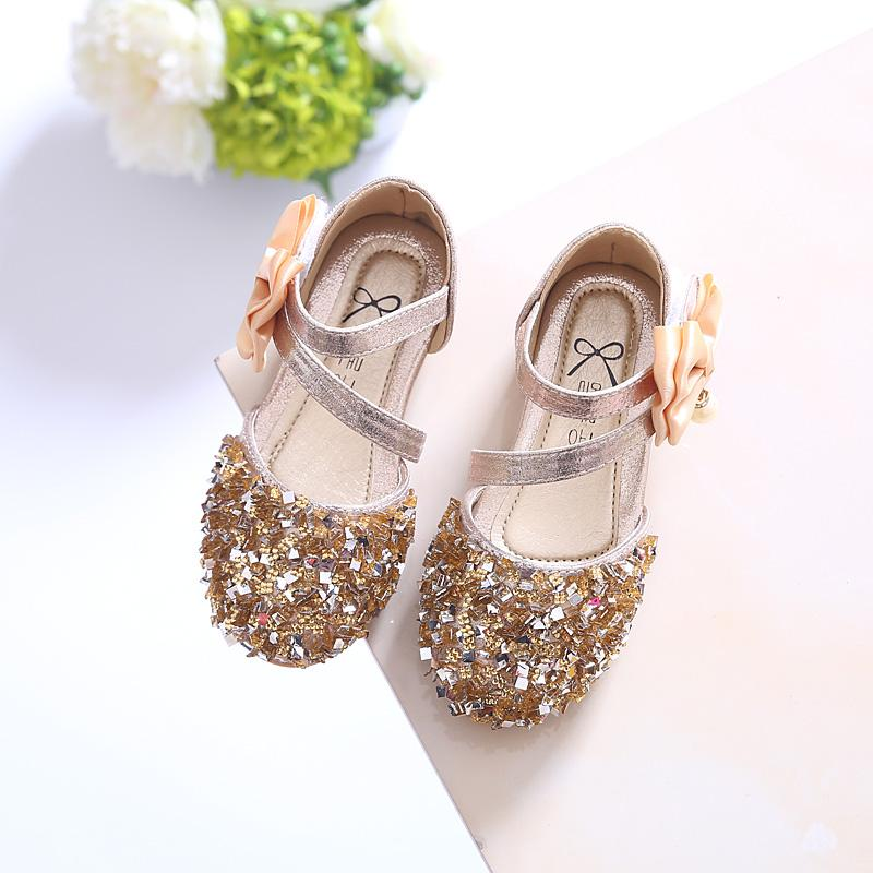 92a0fbd1e80fb 2017 New Arrival Girls Sandal Summer Sequins Baby Shoes Popular with ...