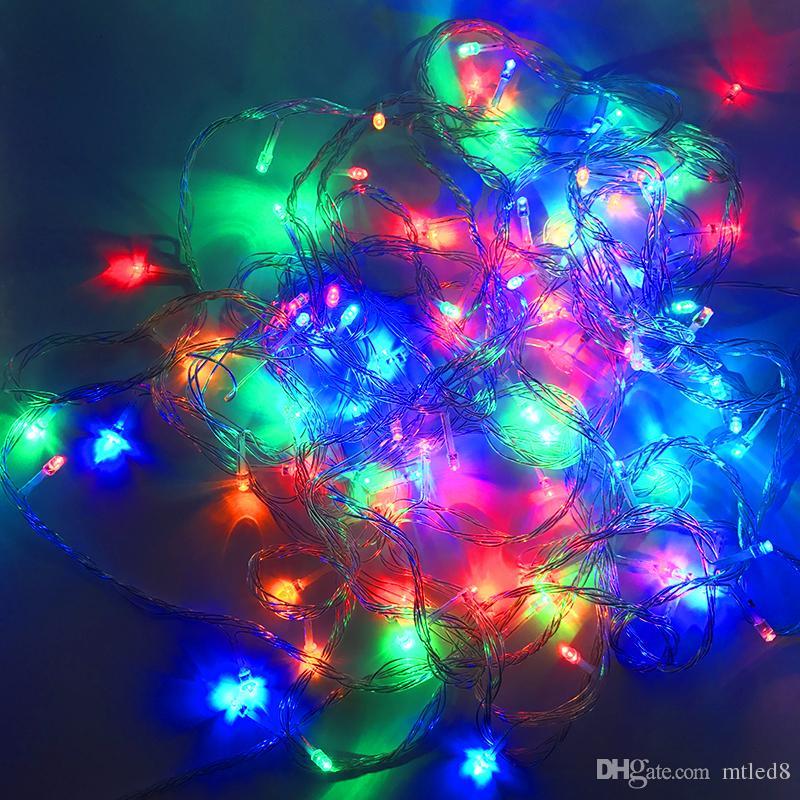 LED Strips 10M string Decoration Light 110V 220V For Party Wedding led twinkle lighting Christmas decoration lights string