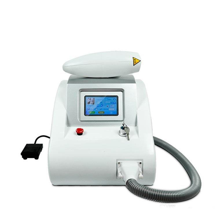 Portable q-switch nd yag skin whitening melanin skin spot laser tattoo  removal machine new arrival goods