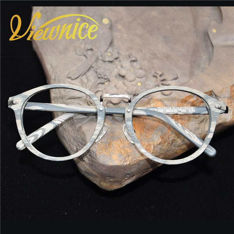 c7880caac8a 2019 Wholesale Wood Grain Glasses Frame Men Clear Frame Gafas Women Nerd  Eyeglasses Fake Oculos Acetate Metal Quality Temples Opticos Mujer From  Duweiha