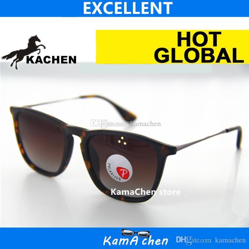 95edc74245242c KaChen UV400 Polarisierte Verlaufslinse Plank Rahmen Warp Stil Schutz AAA 1   1 Qualität Sonnenbrille Brille Männer Frauen