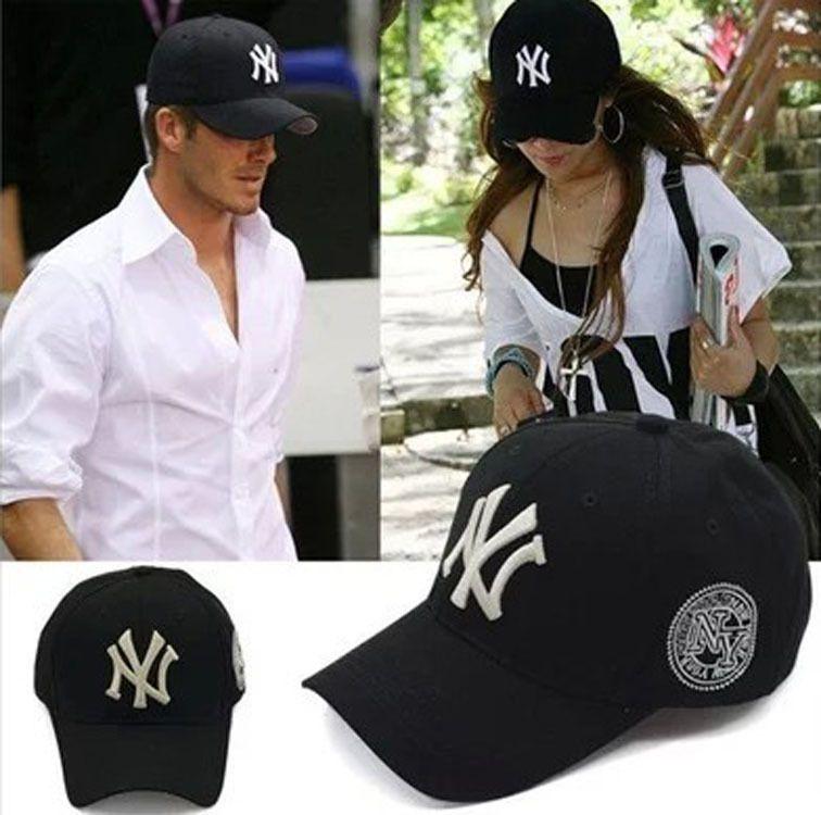 Fashion NY Yankees Baseball Cap Snapback Embroidered Hip Hop Men Women MLB  Adjustable Sun Golf Trucker Cap Hat Cap Shop Flexfit Caps From Extraguo a41105d96