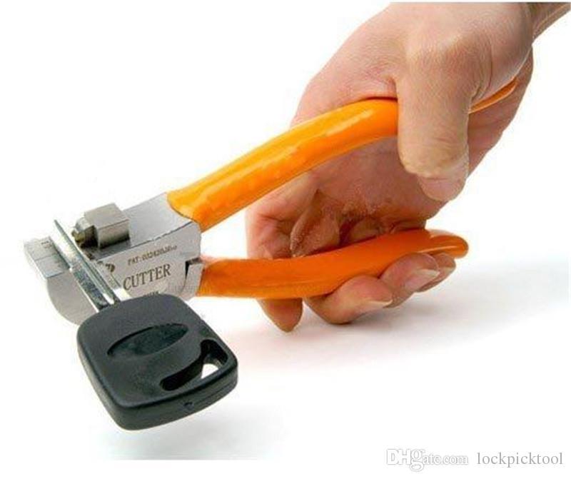 직접 기계 자물쇠 도구 컷 플랫 키를 절단 원래리스 키 커터 자물쇠 자동차 키 커터 도구 자동차 키