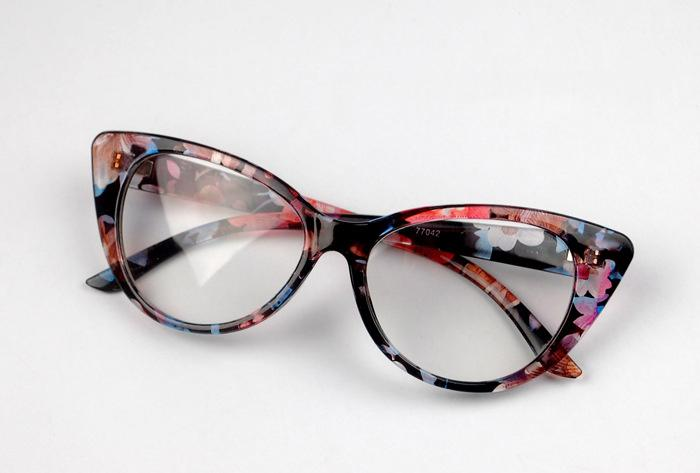 6b3c7d434af2 2019 Wholesale Ladies Women Vintage Cat Eye Design Full Rim Clear Lens Eyeglass  Frame Eyewear Spectacles Fashion Glasses Prescription From Value333