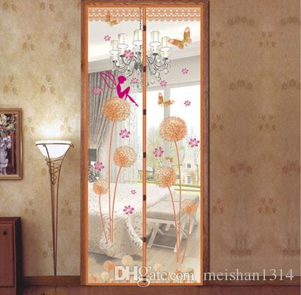 Superieur 2018 2016 Soft Screen Door Mosquito Net On Magnets Mesh Prevent Durable  Mosquito Chinese Screen Door Curtains For Kitchen Living Room From  Meishan1314, ...