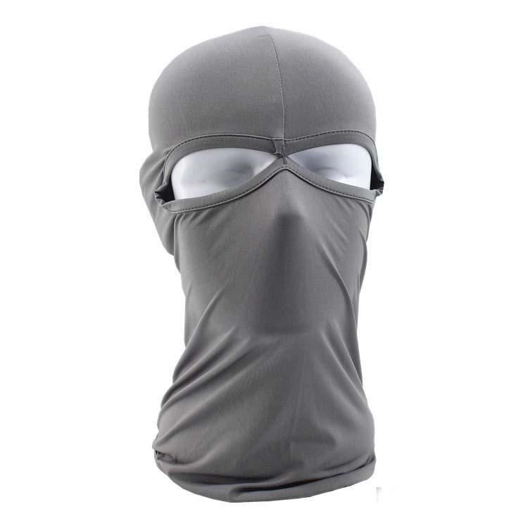 2017 New Balaclava Mask Windproof Face Neck Guard Masks Ninja Headgear Unisex Hat Motorcycle Cycling Protect Winter Casual Solid Masks Hat
