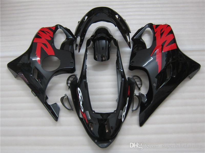 3 regalo Nueva Hot ABS kits de Carenado de la motocicleta 100% Ajuste Para Honda CBR600R F4 99-00 CBR600 600RRF4 99-00 conjunto de carrocería agradable Negro Rojo