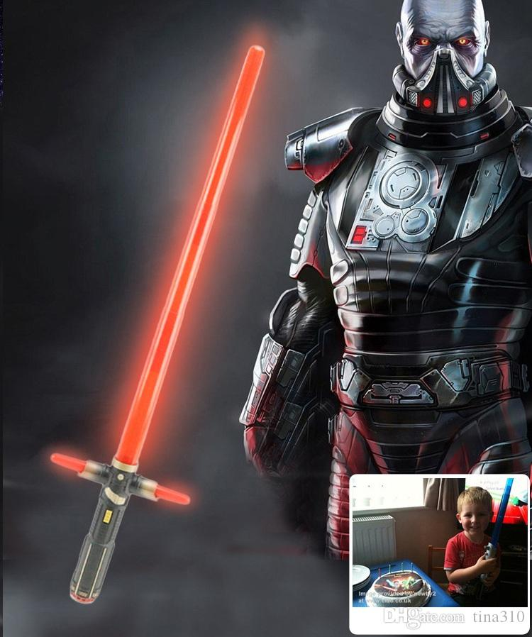 New laser sword Lightsaber Light Saber Telescopic Weapons laser Sword Toy with Light Cosplay Toys B0367