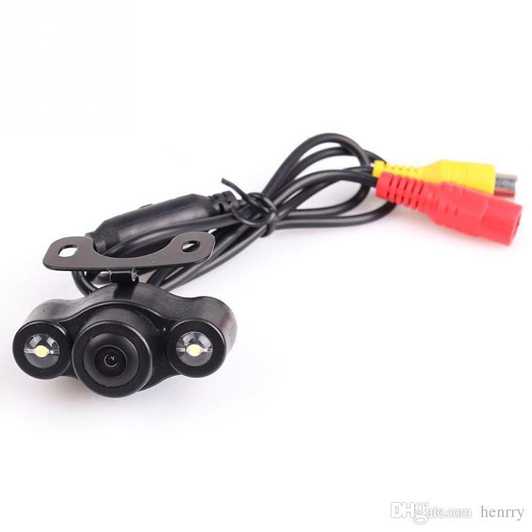 HD LED impermeable cámara de visión trasera del coche PZ409 1/4 CMOS DC 12V IP67 visión nocturna 170 grados 600TVL EMS
